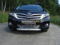 Решетка радиатора 12 мм Toyota Venza 2013